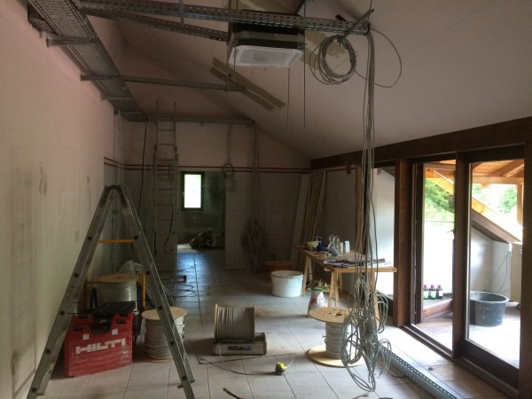 Pictures from the renovation of our laboratory 2017